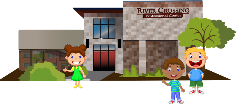 An illustration of the building of Great Grins for KIDS - Oregon City in Oregon City
